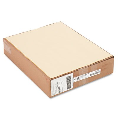 Cream Manila Drawing Paper, 50 lbs., 18 x 24, 500 Sheets/Pack, Sold as 1 Package