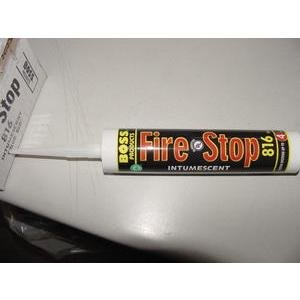 BOSS 81610*/816-RED FIRE STOP INTUMESCENT CAULKING by HUGO BOSS (Image #1)