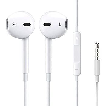 apple earbuds jack wiring diagram amazon.com: apple earphones with remote and mic (old ... apple headset button wiring