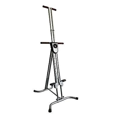 Enshey Vertical Climber Exercise Climbing Machine Stepper Cardio Exercise Total Body Workout Climber Machine Folding Climbing Machine Fitness for Home GYM Step Climber Exercise Machine