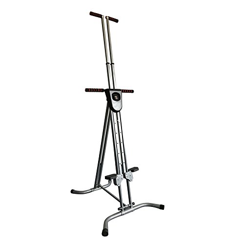 Enshey Vertical Climber Exercise Climbing Machine Stepper Cardio Exercise Total Body Workout Climber Machine Folding Climbing Machine Fitness for Home GYM Step Climber Exercise Machine by Enshey