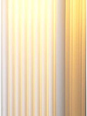 Round Pleated Design Standing Lamp 120 cm White TRANGO TGHP-120R