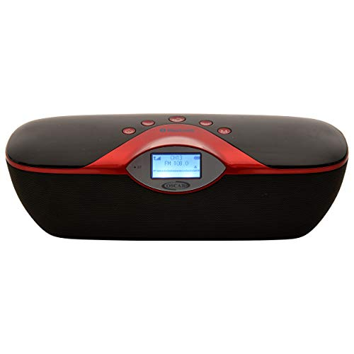 OSCAR OSC 180GDP Cordless 2.0 Bluetooth Speaker with, FM, USB with 2200 Mah Li Ion Rechargeable Battery