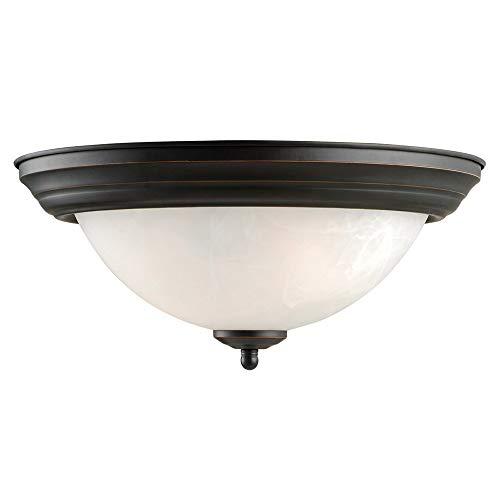 (Design House 514489 Millbridge 2 Light Ceiling Light, Oil Rubbed)