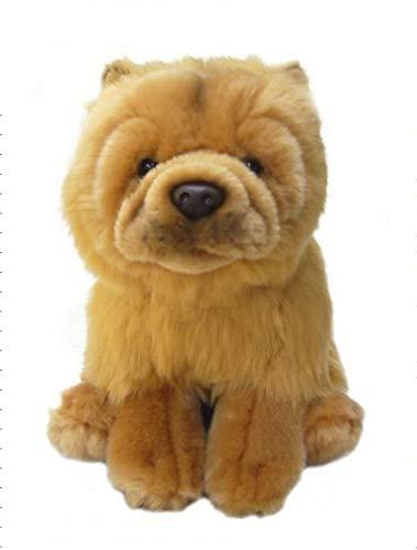 Faithful Friends Plush Dog Chow Chow - Collectible Dog 12 inch - Soft Cute Stuffed Animal Pet