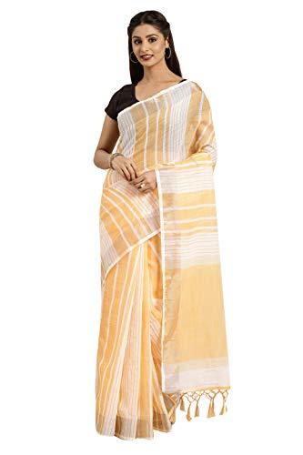 VARKALA SILK SAREES Women's Linen cotton Daily Work Regular Saree