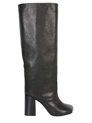 Nero Nero Donna S40WW0061PR013T8013 MARGIELA MAISON Stivali Pelle Mm6 Mm6 Mm6 OUxYnq6B