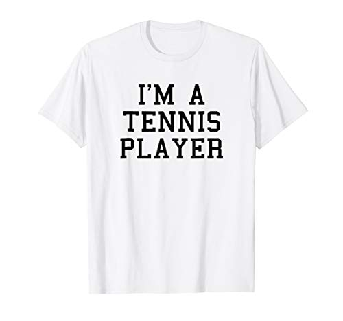 I'm A Tennis Player Funny Halloween Costume T-Shirt