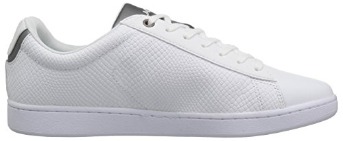 Lacoste Men's Carnaby Evo 417 2 Sneaker, White, 9 M US