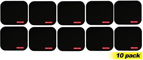 Mouse Pad Pack of 10 Mouse mat for Computer Excellent Quality Pads Black Colour