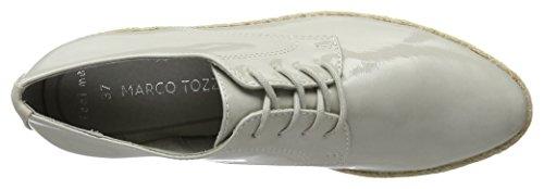 Patent Mujer Oxford Cordones de Grey 242 Gris 23713 Tozzi para Marco Zapatos xfZOOq