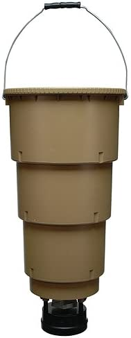 Best Deer Feeder: Moultrie 5 Gallon All in One with Time Feeder