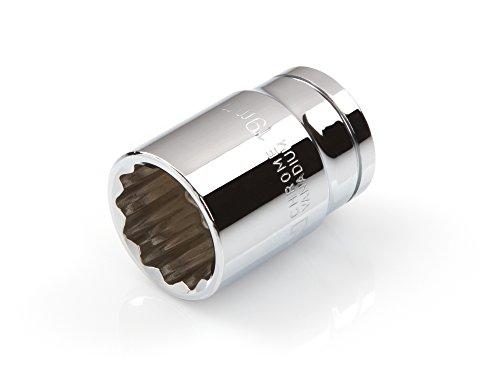 19 Mm Socket (TEKTON 14232 1/2-Inch Drive by 19 mm Shallow Socket, Cr-V, 12-Point)