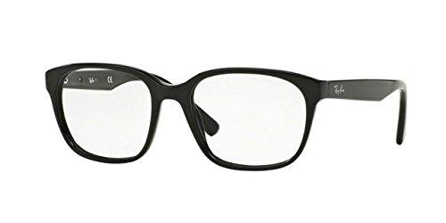 Ray-Ban Men's RX5340 Eyeglasses Shiny Black - Ban Frame Glasses Ray
