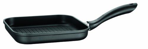 Domestic TOP Selection by Mäser, Serie Dione, Grillpfanne 24 cm, antihaftbeschichtet, mit schwarzer ILAG-BASIC-Beschichtung, in der Farbe Schwarz