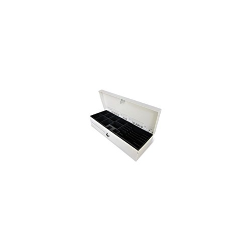 Phoenix Technologies PHCAJONBLANCOVERTI - Cajón portamonedas vertical automático, blanco/beige Phoenix-Technologies