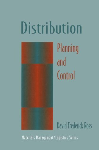 Distribution  Planning And Control  Chapman   Hall Materials Management Logistics Series