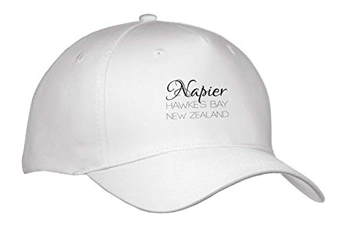New Zealand Hawkes Bay - Ted GIen Alexis Design - New Zealand Cities - Napier Hawkes Bay, New Zealand. Patriot, Region, Home Town Design - Caps