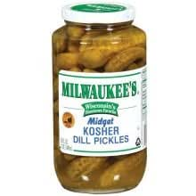 pinnacle foods milwaukee midget kosher dill pickle 32