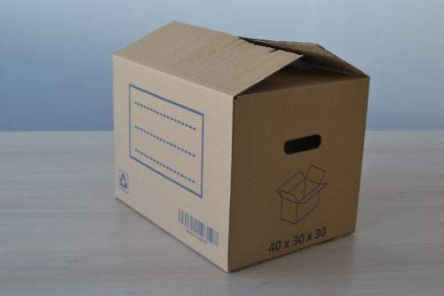 FUN&GO Caja Carton mudanza 40x30x30: Amazon.es: Hogar