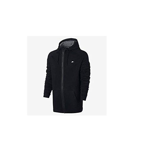 Nike Sportswear Modern Full-Zip Hoodie (S, Black/Black)