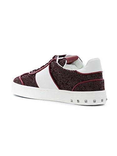 Valentino Zapatillas Para Mujer Blanco/Rojo It - Marke Größe