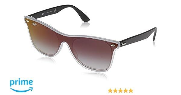 Ray-Ban 0RB4440N 6355U0 41 Gafas de sol, Matte Trans, Unisex