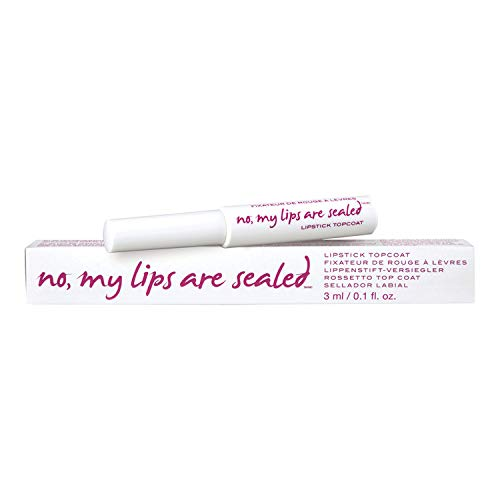 Coat Top Lip - Know Cosmetics No My Lips Are Sealed, White, 0.10 Fluid Ounce