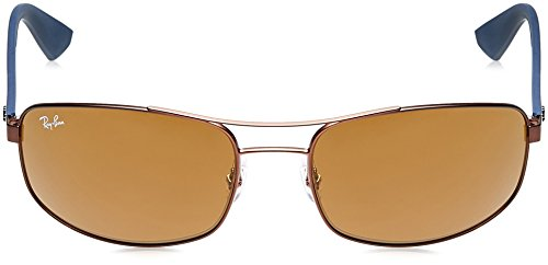 012 BROWN Ban DARK de Gafas 61 sol Ray MATTE RB3527 73 6Zawpx