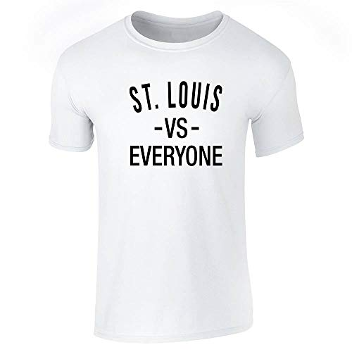 St Louis vs Everyone Sports Fan White S Short Sleeve T-Shirt