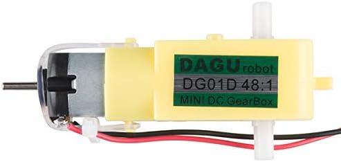 for Robotics PID 13302 Hobby Gearmotor - 140 RPM SparkFun Pair