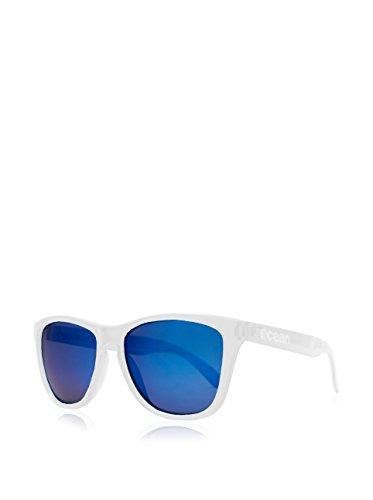 única Unisex Color Sunglasses Sea de Blanco Talla transparente Ocean Azul Sol revo Gafas Amarillo Blanco zXdYT