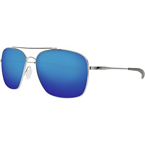 Costa Del Mar Canaveral Sunglasses Palladium/Blue Mirror (Palladium Blue Sunglasses)