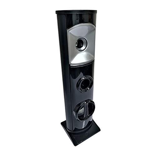 MAYUMI® Mini Sound Tower - Wireless Speaker Mini DJ Tower Speaker with AUX, USB, Bluetooth, FM & MMC 50W with Mobile Stand Home Audio Speaker (Free Mobile Stand)
