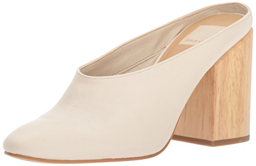 Dolce Vita Women's Caley Mule, ivory leather, 7.5 M US Dolce Vita Leather Pumps