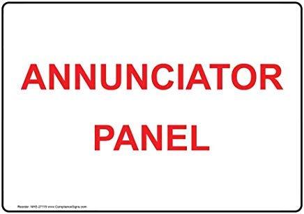 liuKen Annunciator Panel Sign,Funny Wanring Signs,Gate Sign,Hence Yard Sign,8
