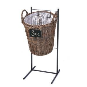 Single Metal Stand - Black Metal Single Basket Stand 31