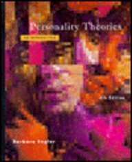 Personality Theories: An Introduction by Barbara Engler (1995-01-01)