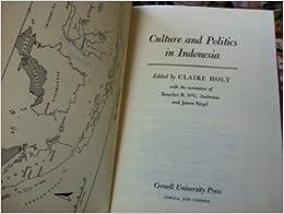 Book Culture and Politics in Indonesia