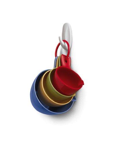 051131769090 - Command Designer Hooks, Small, White, 2-Hooks and 4 Strips (17082ES) carousel main 3