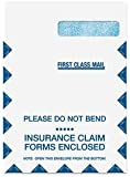 EGP 9 x 12 1/2 Claim Form Envelope Right Window - Top Flap