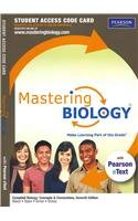 Mastering Biology with Pearson Etext Student Access for Campell Biology Concepts and Connections