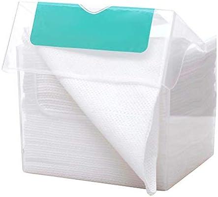 Nargut 50 unidades por caja de toallas desechables para lavar la cara, almohadillas de algodón para quitar el maquillaje.: Amazon.es: Hogar