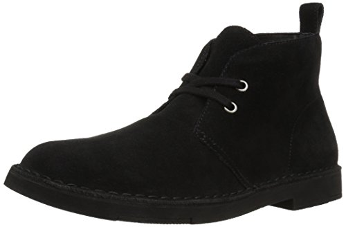 206 Collective Mens Pine Chukka Boot Black Suede