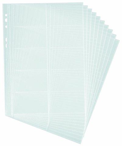 Durable Visitenkarten Hüllen Din A4 Für 10 Visitenkarten