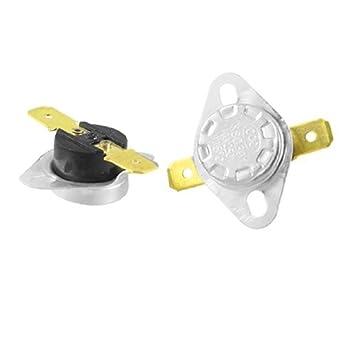 DealMux KSD301 Térmica TERMÓSTATO 115 Celsius NC, 250V, 10 Amp