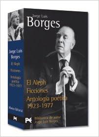 Estuche - J. L. Borges: El Aleph - Ficciones - Antología poética ...