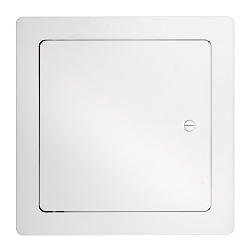 (Accord Ventilation 69911212WH Steel Access Panel, 12-inch x 12-inch, White)