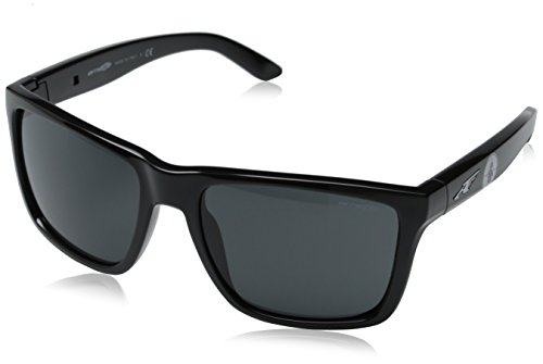 Arnette Men's Witch Doctor AN4177-225887-59 Black Square - Sunglasses Arnette