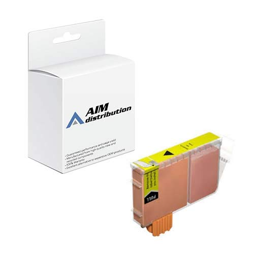 (AIM Compatible Replacement for Canon BCI-6Y Yellow Inkjet (280 Page Yield) (F47-3251-400) -)